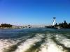 Pohled z člunu