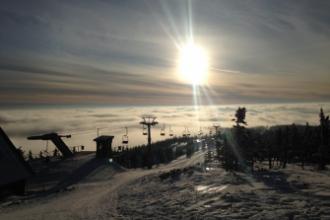 Student trip to Sněžka