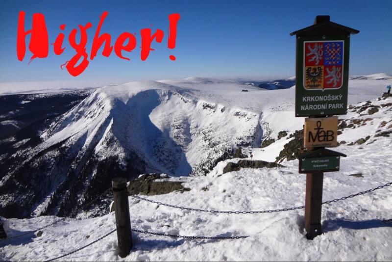 HIGHER! - THE HIGHEST PEAK OF THE CZECH REPUBLIC