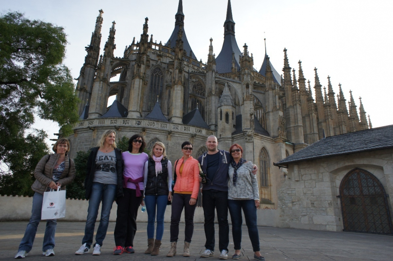 Kutná Hora foreign student trip